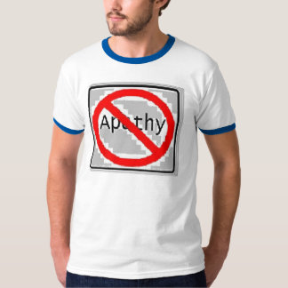 No Apathy. T-Shirt