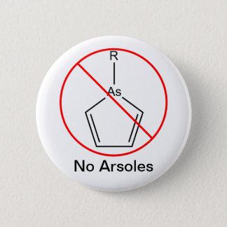 No Arsoles! 6 Cm Round Badge