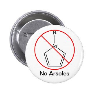 No Arsoles Pinback Buttons