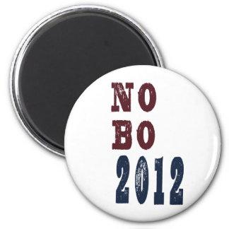 No B O 2012 Election Tee 6 Cm Round Magnet