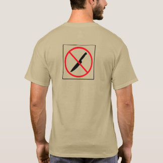 No Back Stabbing T-Shirt