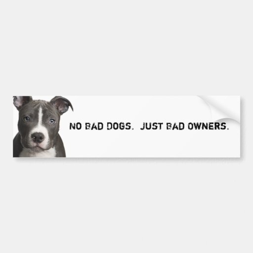 no bad dogs only bad owners What are the biggest dog myths common misconceptions about dogs myths that amount to bad most likely due to an incorrect assumption by dog owners.