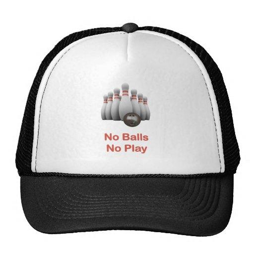 No Balls Bowling Hats