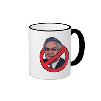 No Barney Frank Ringer Mug