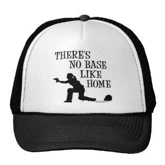 No Base Like Home, black Cap