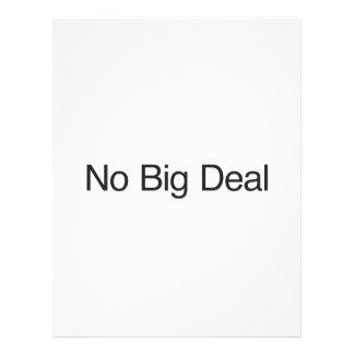 No Big Deal ai Flyer