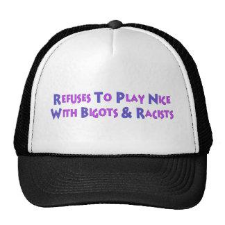 No Bigots No Racists Cap