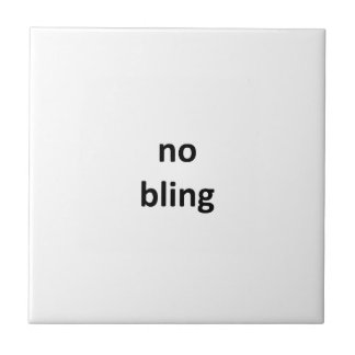 no bling2 jGibney The MUSEUM Zazzle Gifts Small Square Tile