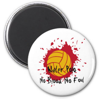 No Blood No Foul 6 Cm Round Magnet