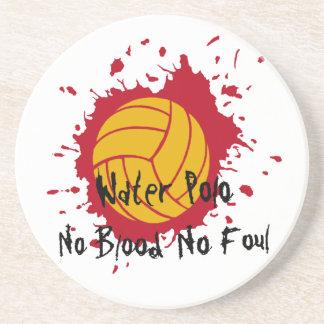 No Blood No Foul Beverage Coaster