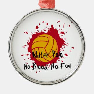 No Blood No Foul Christmas Ornament
