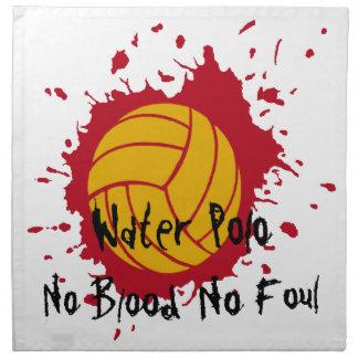 No Blood No Foul Cloth Napkins