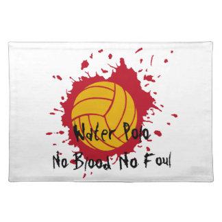 No Blood No Foul Place Mats