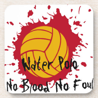 No Blood No Foul Drink Coaster