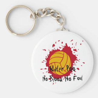 No Blood No Foul Key Ring