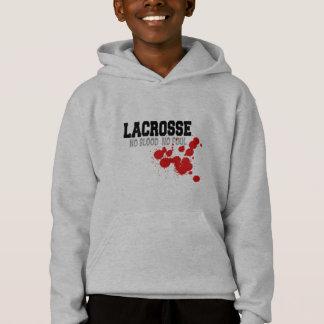 No Blood No Foul Lacrosse Kids Sweatshirt
