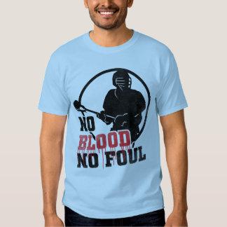 No Blood No Foul Lacrosse T-Shirt