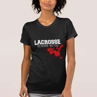 No Blood No Foul Lacrosse T-Shirt T Shirt