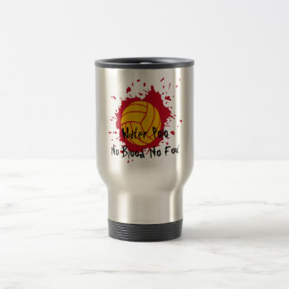 No Blood No Foul Stainless Steel Travel Mug