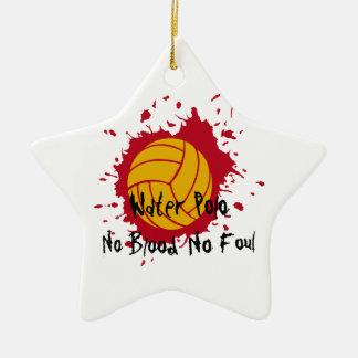 No Blood No Foul Ornaments