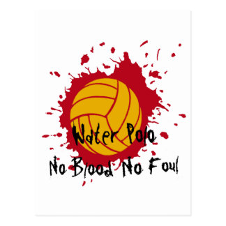 No Blood No Foul Postcard