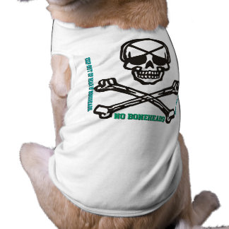 NO BONEHEADS! Keep Out Of Reach Of BoneHeads Sleeveless Dog Shirt