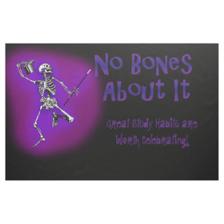 No Bones About It Fabric Bulletin Board Design