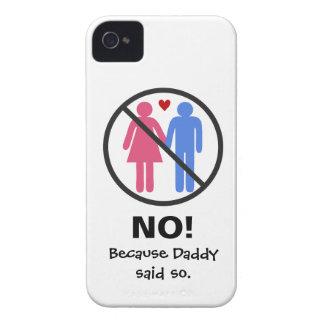 NO Boyfriends Case-Mate iPhone 4 Case