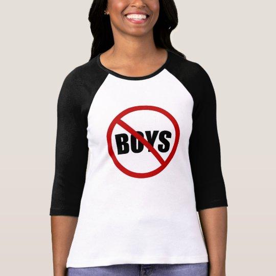 No Boys Allowed Icon Women's Shirt