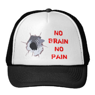 No Brain No Pain Cap
