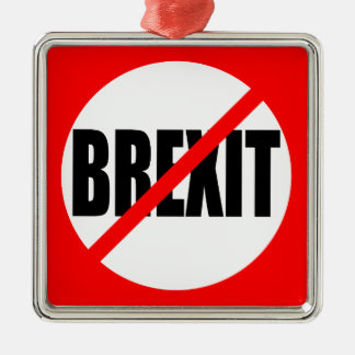 """NO BREXIT"" CHRISTMAS ORNAMENT"