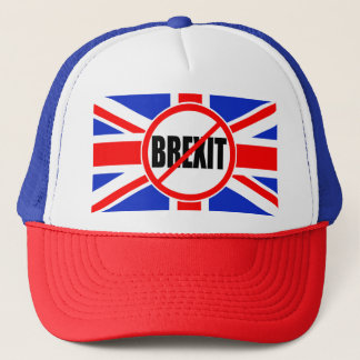 """NO BREXIT"" TRUCKER HAT"