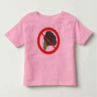 No Broccoli Toddler T-Shirt