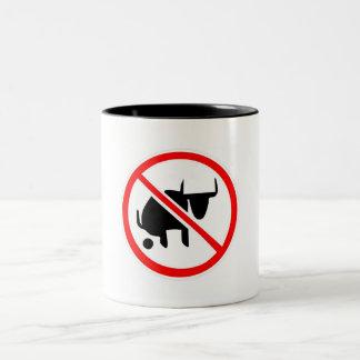 No BS Two-Tone Coffee Mug
