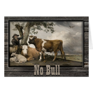 No Bull Country Card