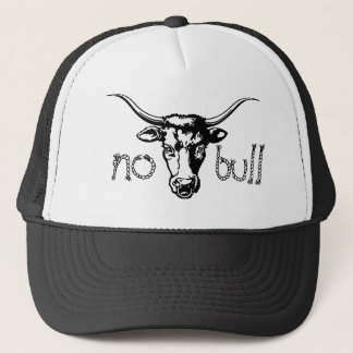 no bull trucker hat