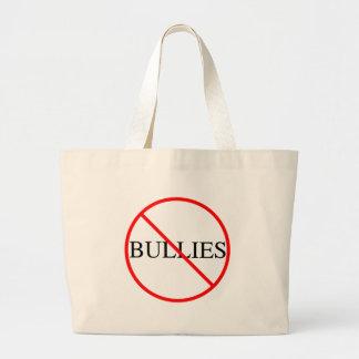 No Bullies Large Tote Bag