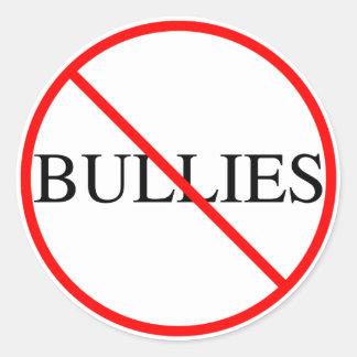 No Bullies Sticker