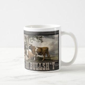 NO BULLSH*T COFFEE MUG