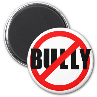 No Bully No Bullying Tshirts, Sweats, Buttons 6 Cm Round Magnet