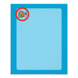 No Bully Zone 11.5 Cm X 14 Cm Flyer