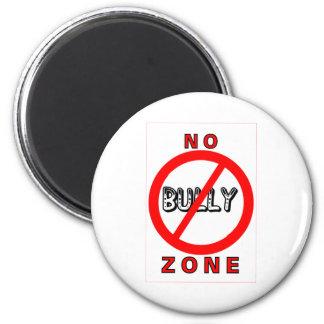 No Bully Zone 6 Cm Round Magnet
