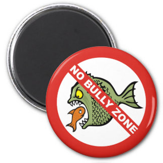 No Bully Zone Magnets