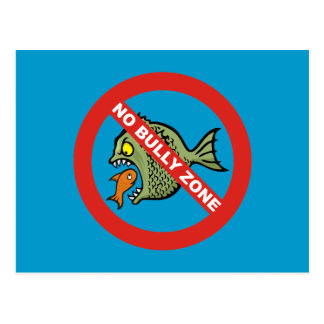 No Bully Zone Postcard