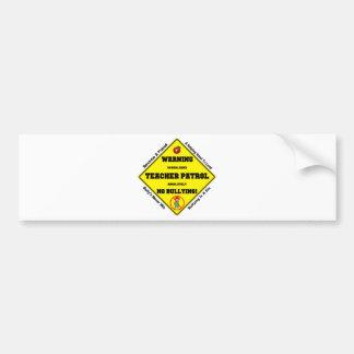 No Bullying Aloud Bumper Sticker