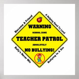No Bullying Aloud Posters
