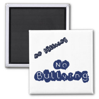 No Bullying Square Magnet