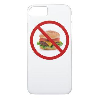 """No Burgers"" design Apple product cases"