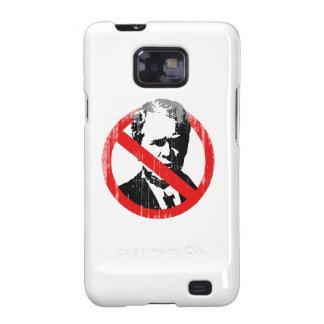 No Bush T-shirt Faded.png Samsung Galaxy S2 Cases