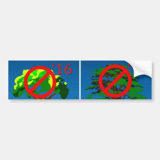No Bush Twofer Bumper Stickers